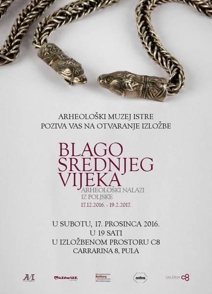 AMI – Otvorenje izložbe 'Blago srednjeg vijeka – arheološki nalazi iz Poljske' (PRESS)